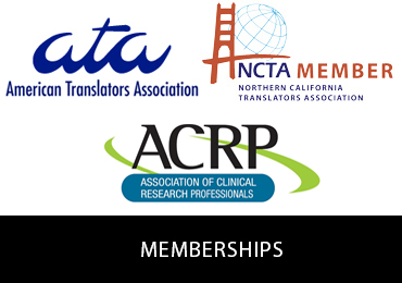 Afaf Translations LLC member and organizations
